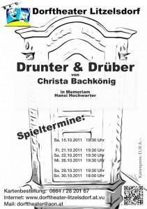 Drunter und Drüber | Dorftheater Litzelsdorf