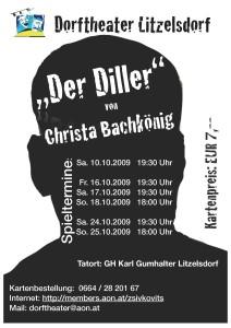 Der Diller   Dorftheater Litzelsdorf