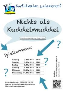 Nichts als Kuddelmuddel | Dorftheater Litzelsdorf